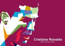 Cristiano Ronaldo ilustração royalty free