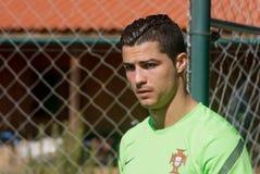Cristiano Ronaldo Imagem de Stock Royalty Free