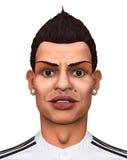 cristiano Ronaldo Obrazy Stock