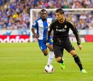 Cristiano Ronaldo che gocciola Fotografie Stock