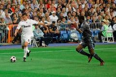 Cristiano Ronaldo contra Marsella Imagen de archivo