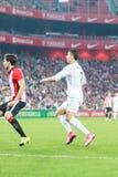 Cristiano Ronaldo in de gelijke in het Stadion van San Mames Royalty-vrije Stock Foto's