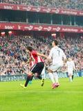 Cristiano Ronaldo in de gelijke in het Stadion van San Mames Stock Foto's