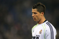 Cristiano Ronaldo de Real Madrid Photographie stock