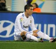 Cristiano Ronaldo de Real Madrid Imagem de Stock Royalty Free
