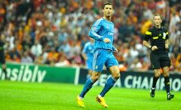 Cristiano Ronaldo de Real Madrid Image stock