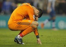 Cristiano Ronaldo de Real Madrid Images libres de droits