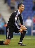 Cristiano Ronaldo de Real Madrid Imagenes de archivo