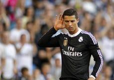 Cristiano Ronaldo de Real Madrid Imagen de archivo