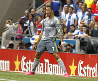 Cristiano Ronaldo de Real Madrid Fotografia de Stock