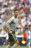 Cristiano Ronaldo de Real Madrid Imagen de archivo libre de regalías