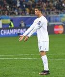 Cristiano Ronaldo de Real Madrid imagens de stock royalty free
