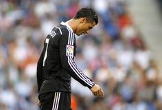 Cristiano Ronaldo di Real Madrid Immagine Stock