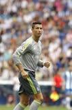 Cristiano Ronaldo di Real Madrid Immagine Stock Libera da Diritti