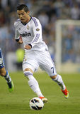 Cristiano Ronaldo do Real Madrid Fotografia de Stock