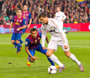 Cristiano Ronaldo dribbling Stock Photo