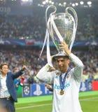 Cristiano Ronaldo futbol obrazy royalty free