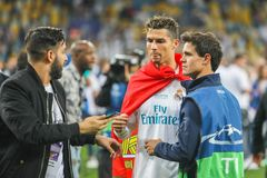 Cristiano Ronaldo futbol zdjęcia stock