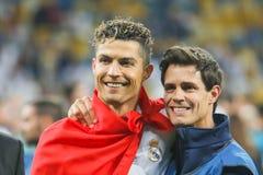 Cristiano Ronaldo futbol zdjęcie royalty free