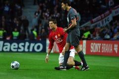 Cristiano Ronaldo (jogador 2009 do mundo de FIFA o melhor) Imagem de Stock Royalty Free