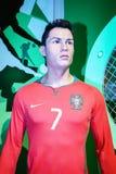 Cristiano Ronaldo at Madame Tussaud s Royalty Free Stock Photography