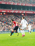 Cristiano Ronaldo in the match in the San Mames Stadium stock photos