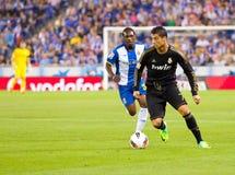 Cristiano Ronaldo na ação Imagens de Stock