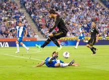 Cristiano Ronaldo nell'azione fotografia stock