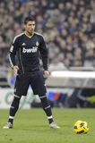 Cristiano Ronaldo prêt à tirer Photo stock