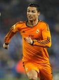 Cristiano Ronaldo Real Madrid obraz stock