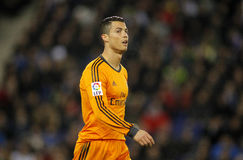 Cristiano Ronaldo of Real Madrid Royalty Free Stock Photos