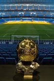 Cristiano Ronaldo's  Golden ball 2013 Royalty Free Stock Image