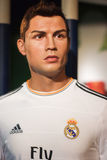 Cristiano Ronaldo's waxwork Royalty Free Stock Images