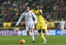 Cristiano Ronaldo und Eric Bailly Stockbilder