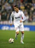 Cristiano Ronaldo von Real Madrid Lizenzfreies Stockbild