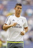Cristiano Ronaldo von Real Madrid Stockbild