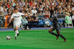 Cristiano Ronaldo vs. Marseille Stock Image