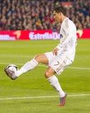 Cristiano Ronaldo w akci obrazy royalty free