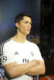 Cristiano ronaldo wax figure Royalty Free Stock Image