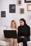 Cristiano y musulmanes imágenes de archivo libres de regalías