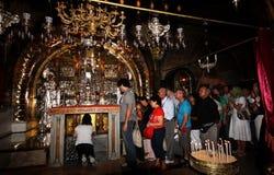 Cristianos en iglesia imágenes de archivo libres de regalías