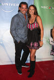 Cristin de la Fuente & Wife NBC TCA July 09 Party Stock Photography