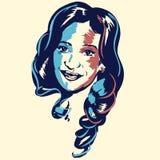 Cristina Fernandez De Kirchner portrait Stock Image