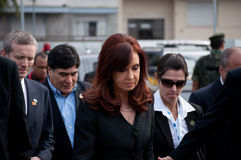 Cristina Kirchner Royalty Free Stock Photography