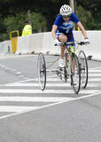 Cristina Otero in the Mixed Road Race T1-2 at the ParaPan Am Games - Toronto August 8, 2015 Royalty Free Stock Photos