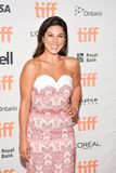 Cristina Rosato at `mother` premiere on red carpet at TIFF17. Actress Cristina Rosato attend the 2017 Toronto International Film Festival premiere of `mother!` Stock Photos