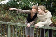 Cristina y Rebecca20 Imagen de archivo libre de regalías