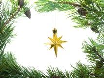 cristmas星形 免版税库存照片