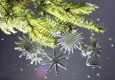 cristmas结构树 免版税图库摄影