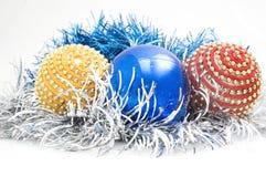 cristmas装饰结构树 图库摄影